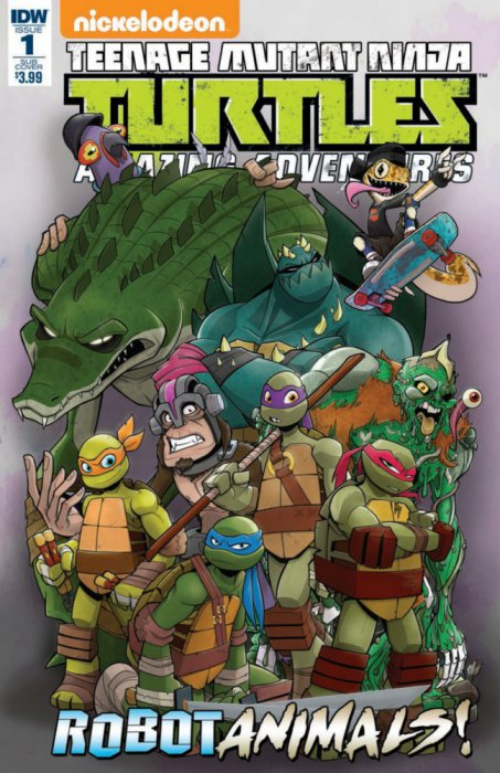 Teenage Mutant Ninja Turtles Amazing Adventures - Robotanimals #1