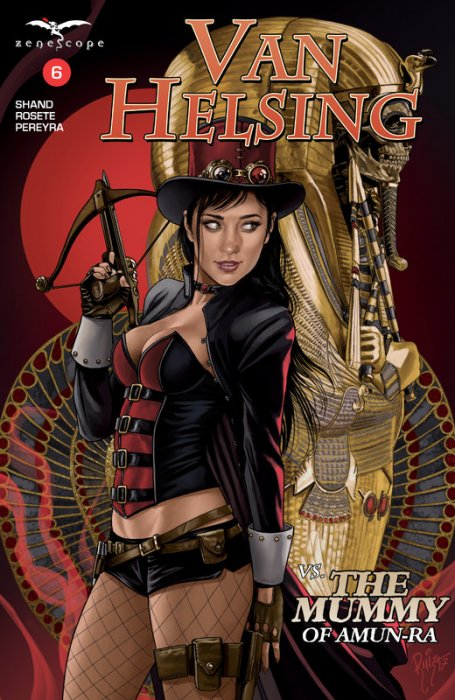 Van Helsing Vs The Mummy Of Amun-Ra #6