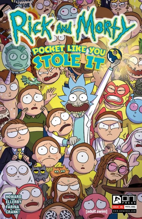 Rick and Morty - Pocket Like You Stole It #1