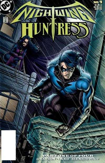 Nightwing and Huntress #1-4 Complete