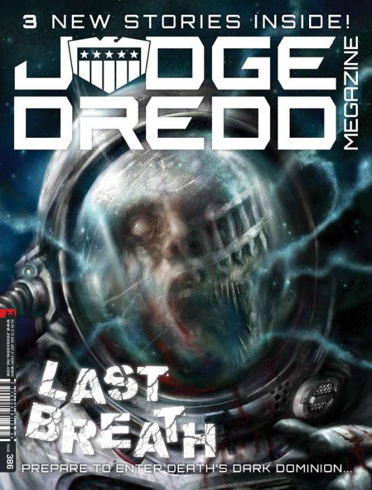 Judge Dredd The Megazine #386