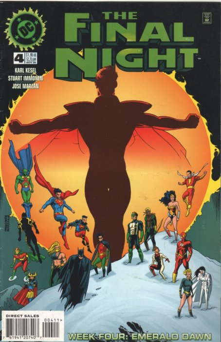 JLA - The Final Night #0-4 Complete