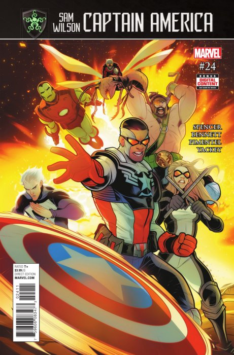 Captain America - Sam Wilson #24