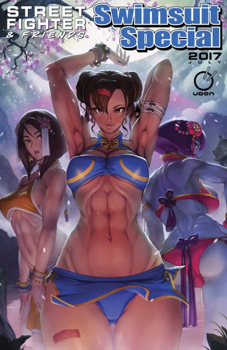 Street Fighter & Friends Swimsuit Special #1