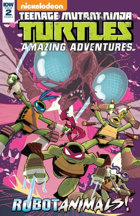 Teenage Mutant Ninja Turtles Amazing Adventures - Robotanimals #2