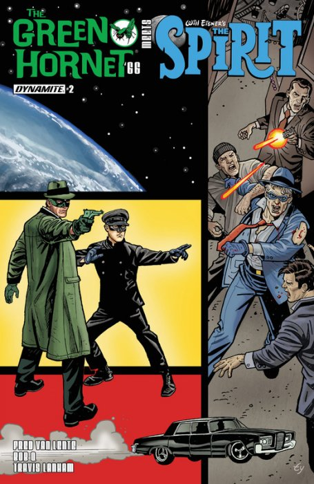 The Green Hornet '66 Meets The Spirit #2
