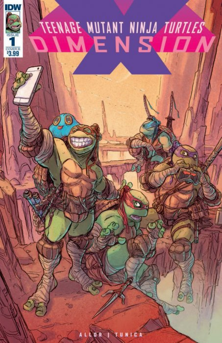 Teenage Mutant Ninja Turtles - Dimension X #1