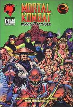Mortal Kombat - Blood and Thunder #0-6 Complete