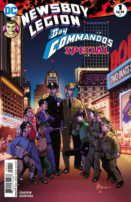 The Newsboy Legion and the Boy Commandos Special #1