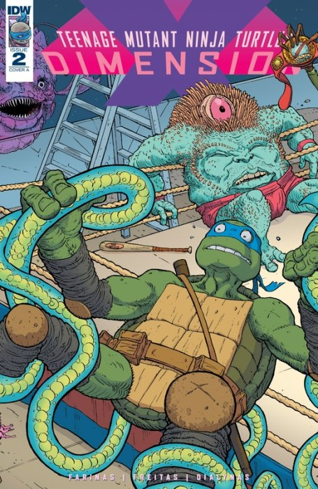 Teenage Mutant Ninja Turtles - Dimension X #2