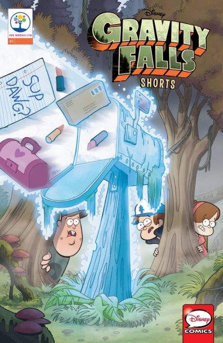 Gravity Falls Shorts Cinestory Comic #3
