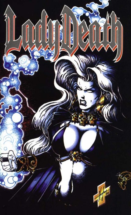 Lady Death - Between Heaven and Hell #1-4 Complete