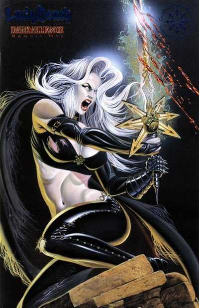 Lady Death - Dark Alliance #1-3 Complete