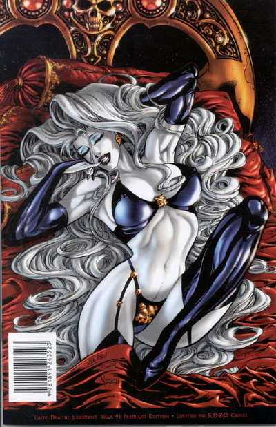 Lady Death - Judgement War #0-3 Complete