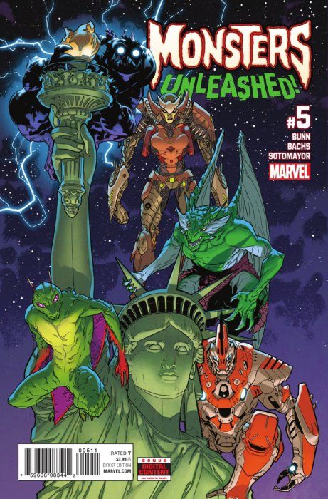 Monsters Unleashed Vol.2 #5