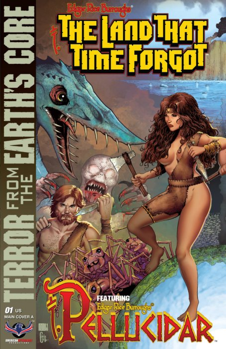 Edgar Rice Burroughs' The Land that Time Forgot, Pellucidar, Terror from the Earth's Core #1