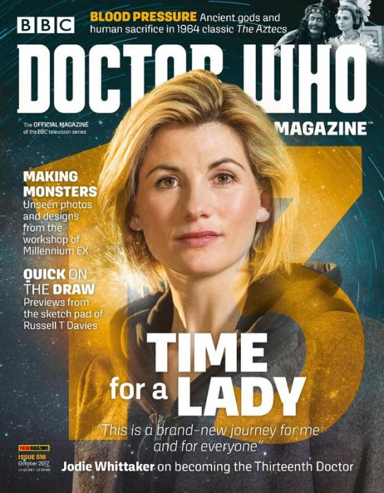 Doctor Who Magazine #516