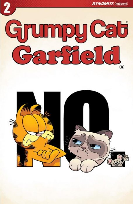 Grumpy Cat-Garfield #2