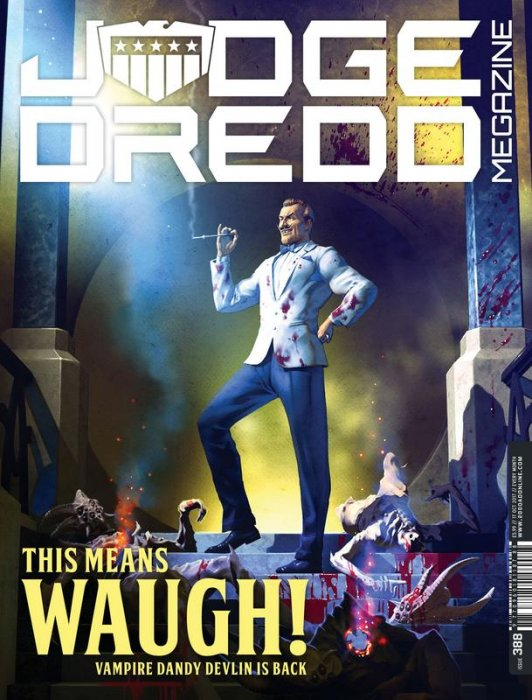 Judge Dredd The Megazine #388
