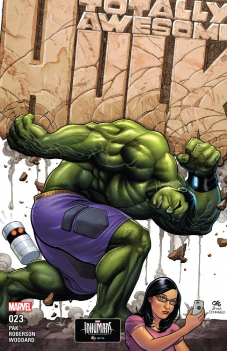 The Totally Awesome Hulk #23