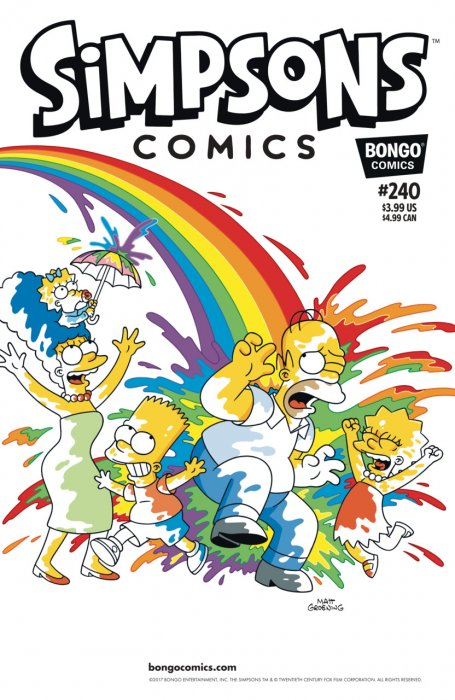 Simpsons Comics #240