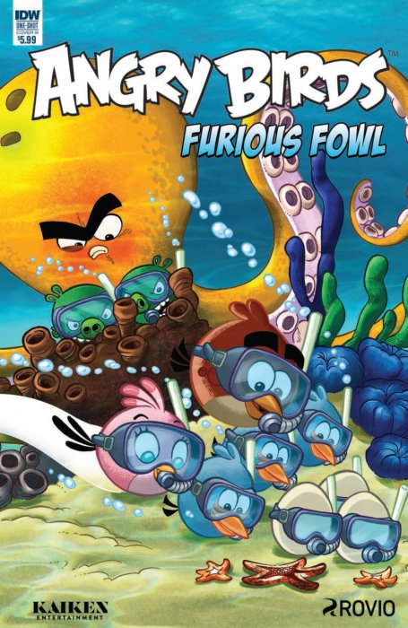 Angry Birds Comics Quarterly #1 - Furious Fowl