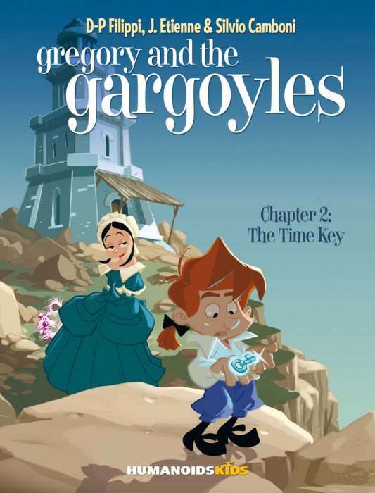 Gregory and the Gargoyles #2 - The Time Key