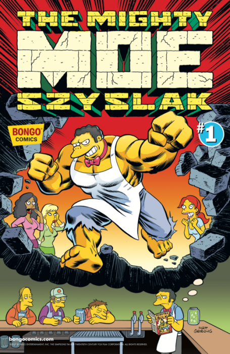 Simpsons One-Shot Wonders - The Mighty Moe Szyzlak #1