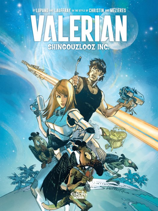 Valerian and Laureline By... #1 - Shingouzlooz Inc.