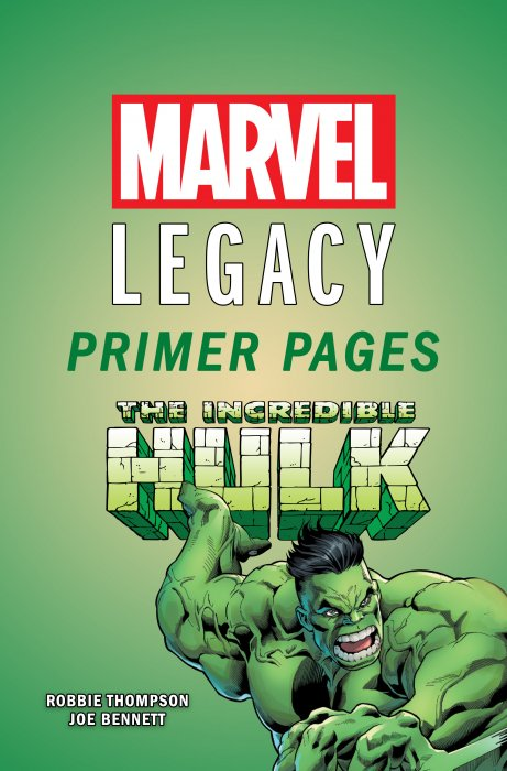 Incredible Hulk - Marvel Legacy Primer Pages #1