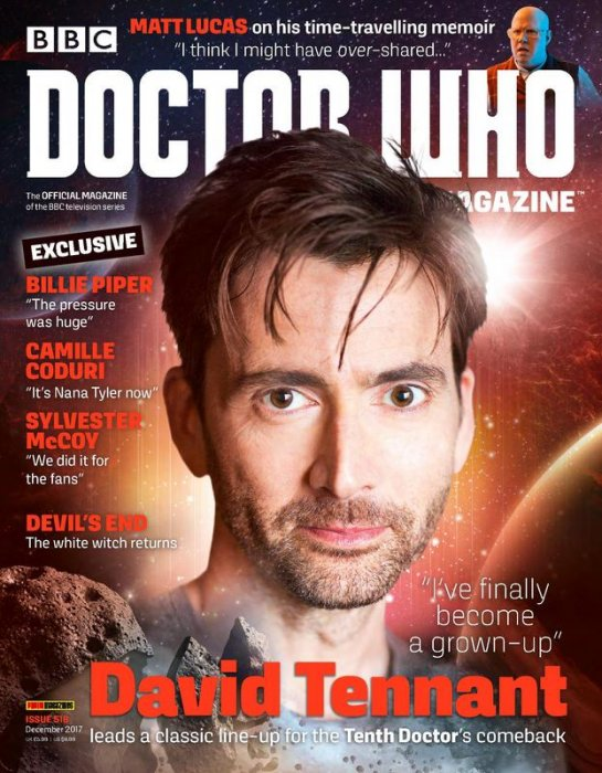 Doctor Who Magazine #518