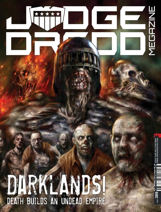Judge Dredd The Megazine #389