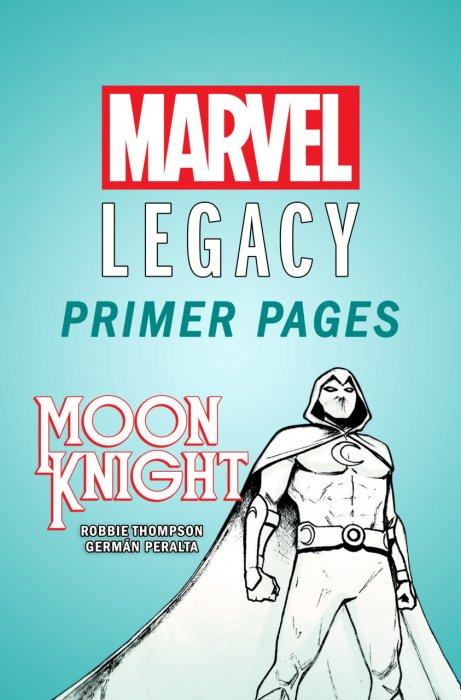 Moon Knight - Marvel Legacy Primer Pages #1
