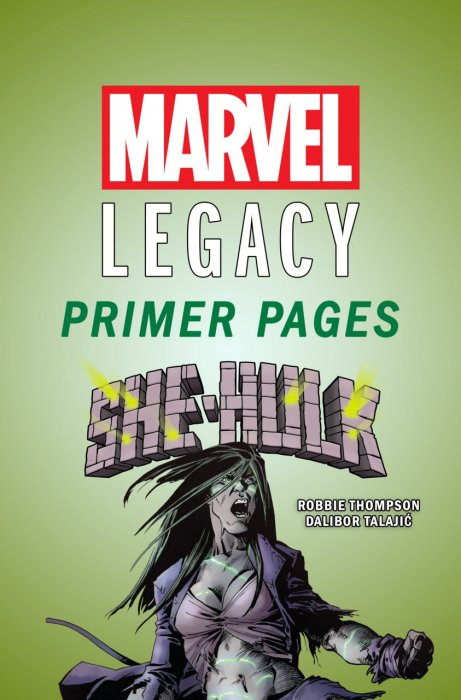 She-Hulk - Marvel Legacy Primer Pages #1
