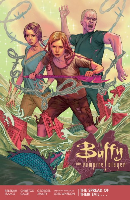 Buffy The Vampire Slayer Season 11 - The Spread of Their Evil #1