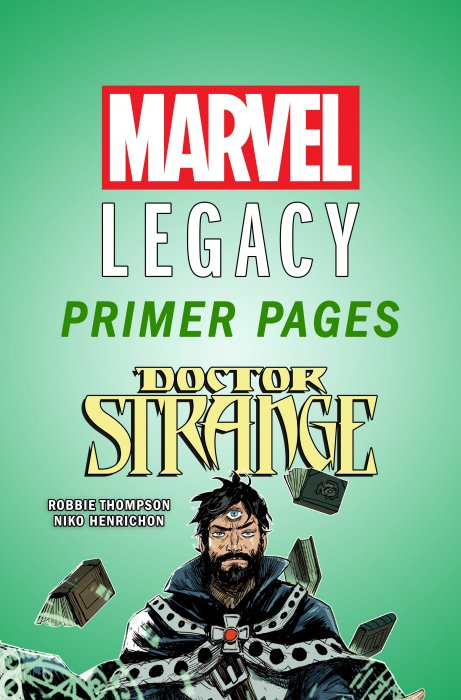 Doctor Strange - Marvel Legacy Primer Pages #1