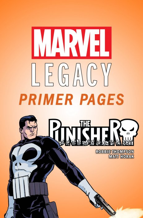 The Punisher - Marvel Legacy Primer Pages #1