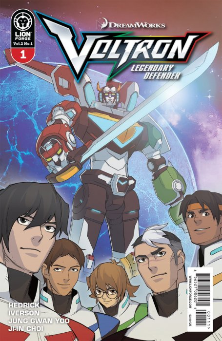 Voltron - Legendary Defender Vol.2 #1