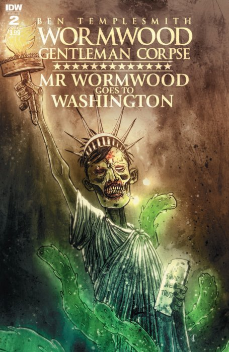 Wormwood Gentleman Corpse - Mr. Wormwood Goes to Washington #2