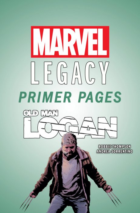 Old Man Logan - Marvel Legacy Primer Pages #1