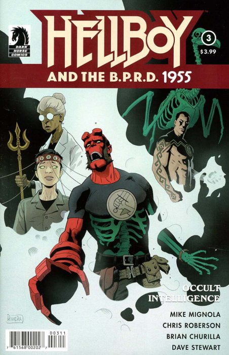 Hellboy and the B.P.R.D. - 1955 - Occult Intelligence #3