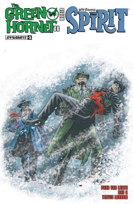 The Green Hornet '66 Meets The Spirit #5