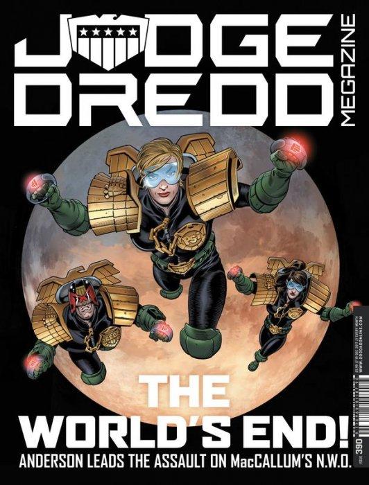 Judge Dredd The Megazine #390
