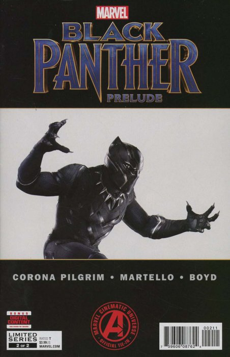 Marvel's Black Panther Prelude #2