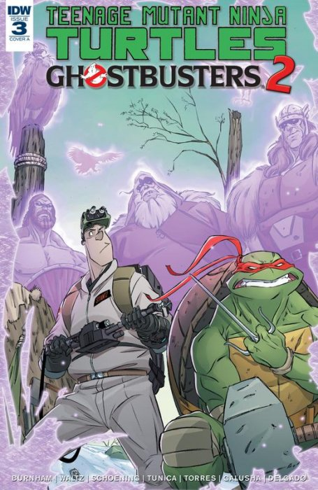 Teenage Mutant Ninja Turtles - Ghostbusters II #3