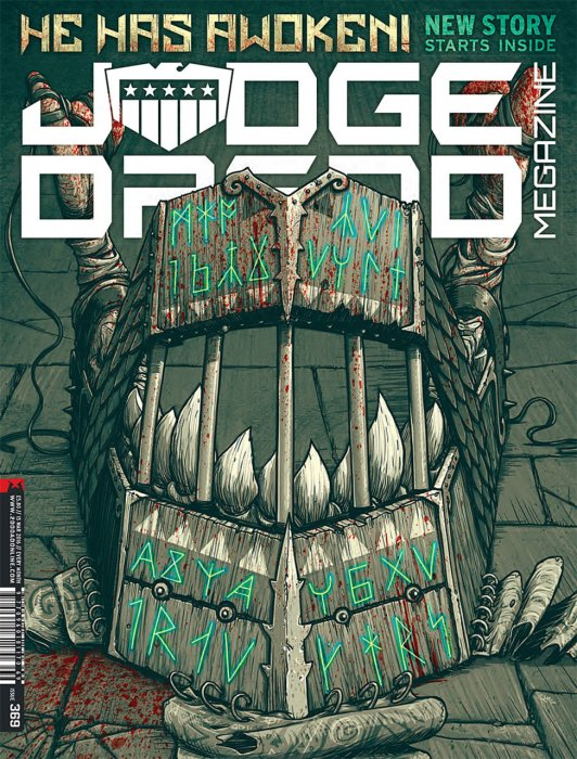 Judge Dredd The Megazine #369
