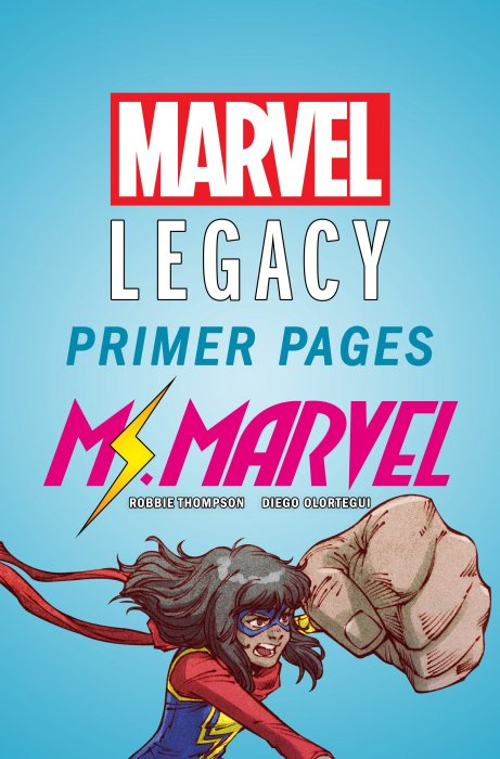 Ms. Marvel - Marvel Legacy Primer Pages #1