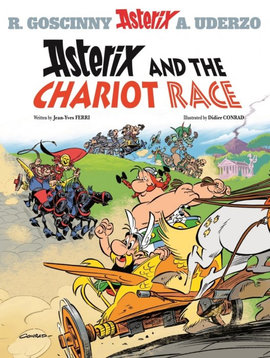 Asterix #37 - Asterix and the Chariot Race