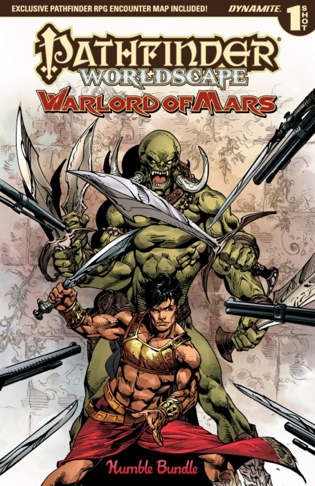 Pathfinder - Worldscape - Warlord of Mars #1
