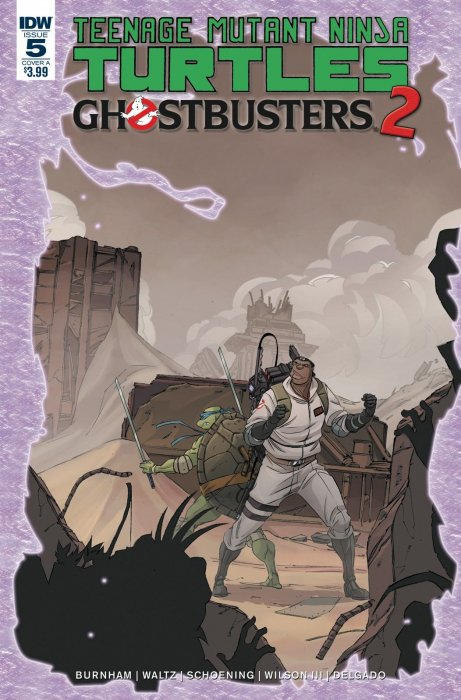 Teenage Mutant Ninja Turtles - Ghostbusters II #5